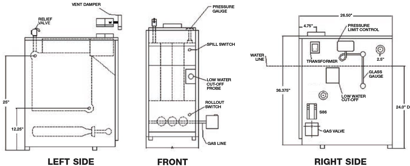 gas steam boiler wiring diagram 1995 ford explorer utica manual e books libraryutica 1
