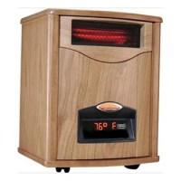 Comfort Furnace 1500-WOX-UV Quartz Infrared Heater - Oak ...