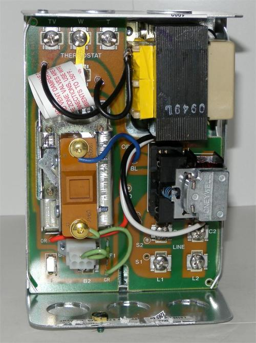 small resolution of honeywell l8148e1265 high limit aquastat relay with 15 f fixed
