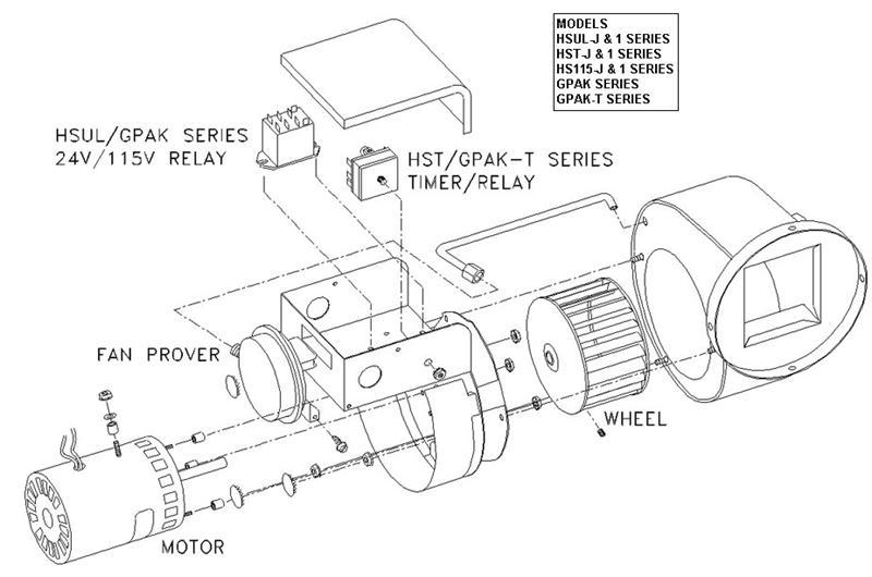 Tjernlund GPAK-1 Gas Heater Vent System