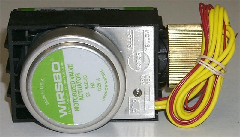 Motorized Valve Actuator Mva Four Wire A