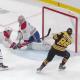 David Pastrnak Buries Beauty from Brad Marchand Boston Bruins