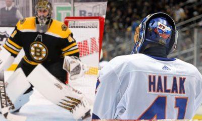 Boston Bruins Jaroslav Halak