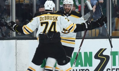 Bruins Trade Jake Debrusk