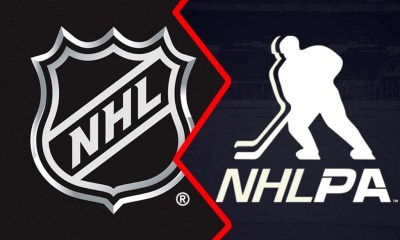 NHL Return, NHL logo, NHLPA logo