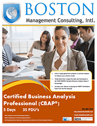Certified Business Analysis Professional (CBAP)