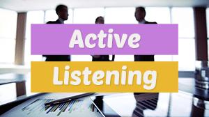 Active Listening Skills Training Course in Dubai.