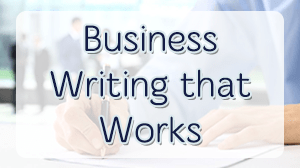 Business Writing Skills Course in Dubai