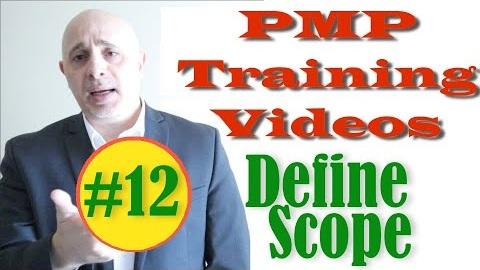 PMP Video - Define Scope Process
