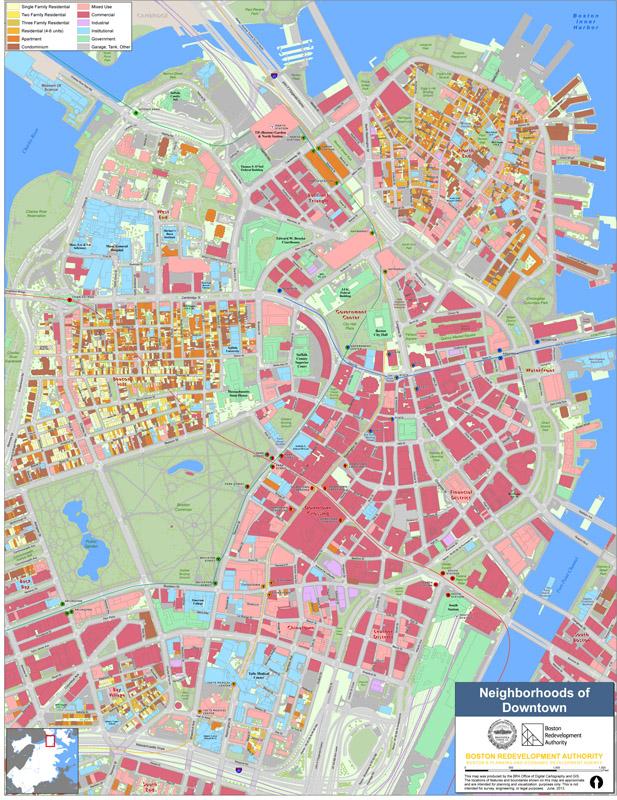 Charleston Zip Code Map : charleston, Neighborhood, Boston, Planning, Development, Agency