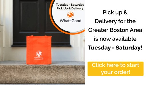 Tuesday - Saturday delivery & pick up available