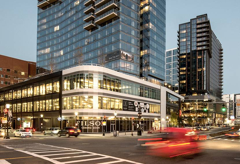 l l bean opens its first urban store at one seaport boston real