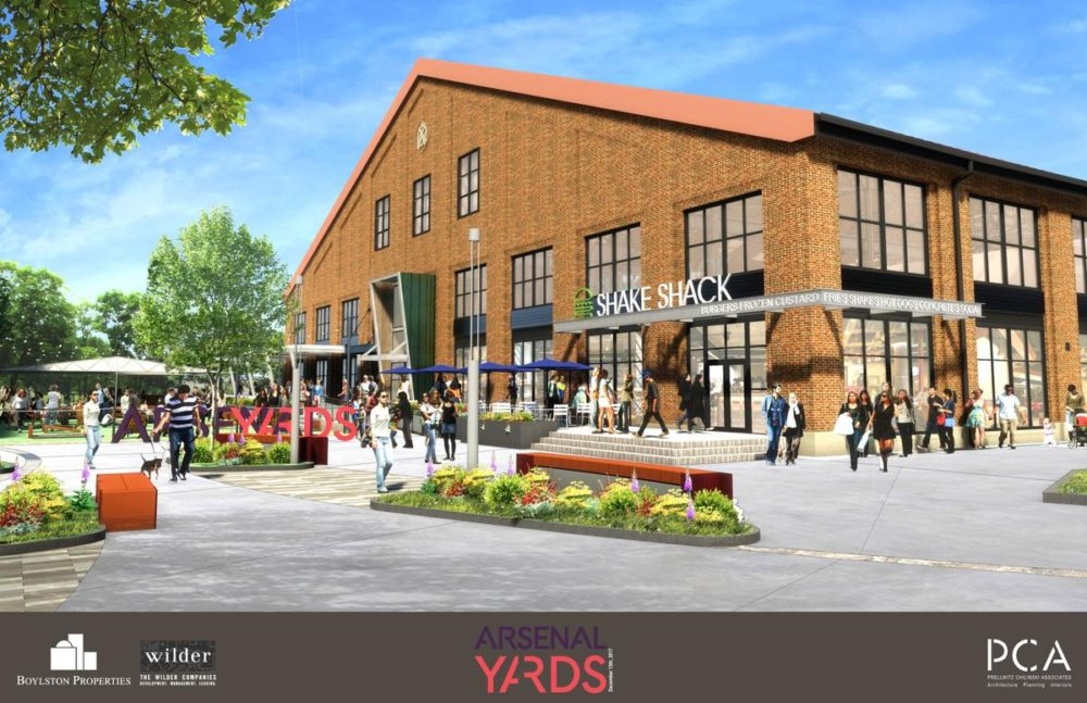 Arsenal Yards Announces Shake Shack is Moving to the