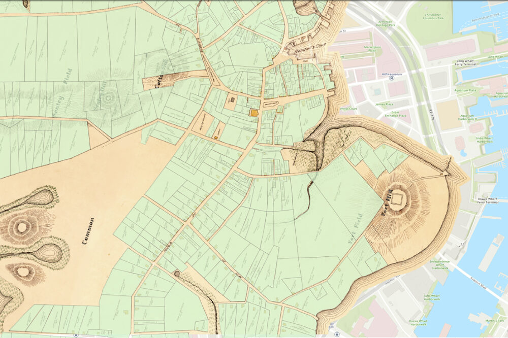 This map unveils Boston's hidden history | Boston Real