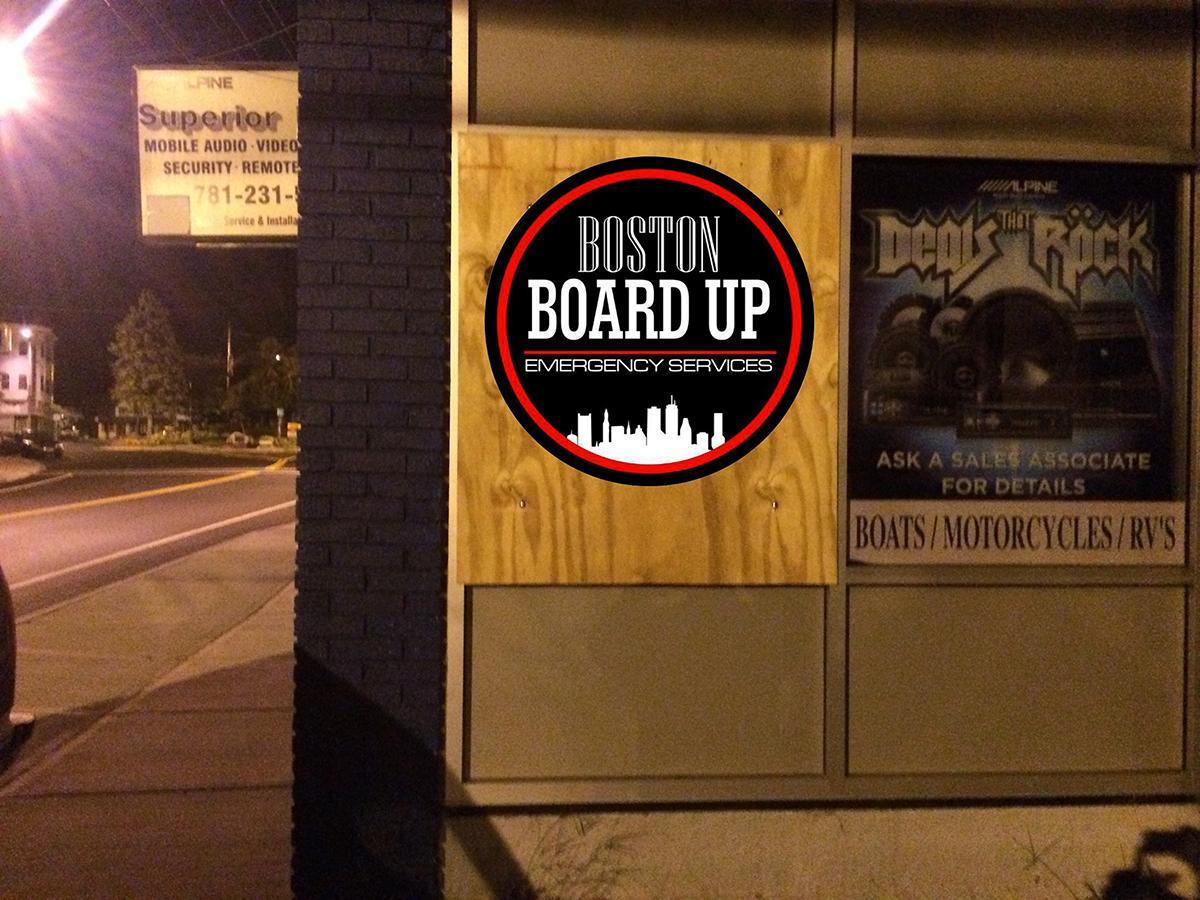 Board Up Services - Boston Board Up