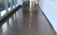 Polished Concrete Floor at New Balance in Allston, MA ...
