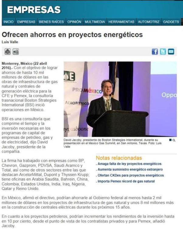 Ofrecen ahorros en proyectos energéticos_Periódico Reforma, México (1)