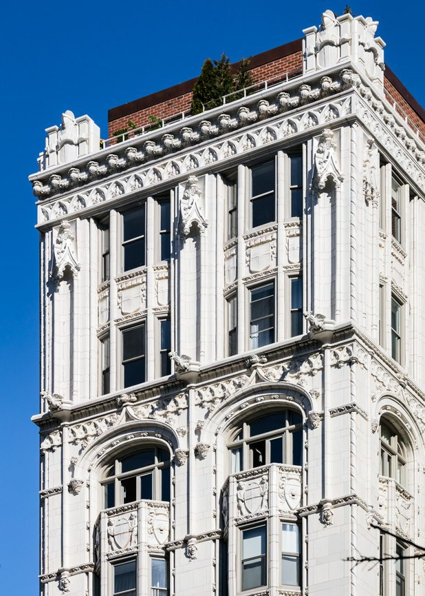 Gramercy Park Architectural Terra Cotta Restoration New