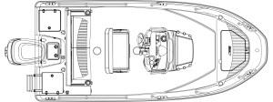 180 Dauntless Boat Model   Boston Whaler