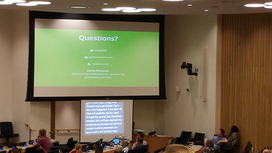 WCNYC 2016 slide - Presentation Tips