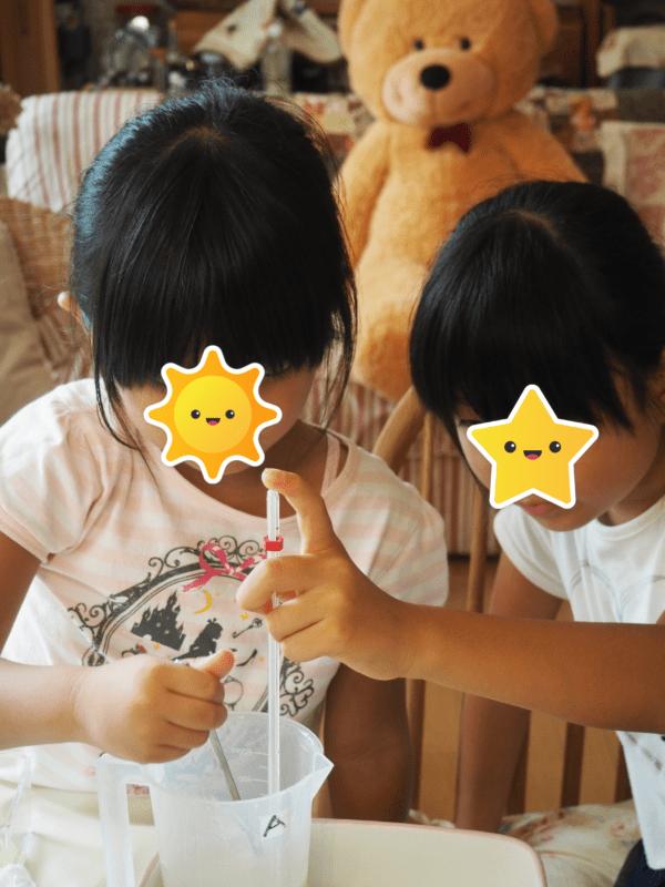 夏休み親子レッスン