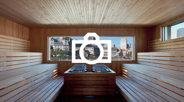 Spa Old Port of Montreal  nordics baths  Bota Bota spa
