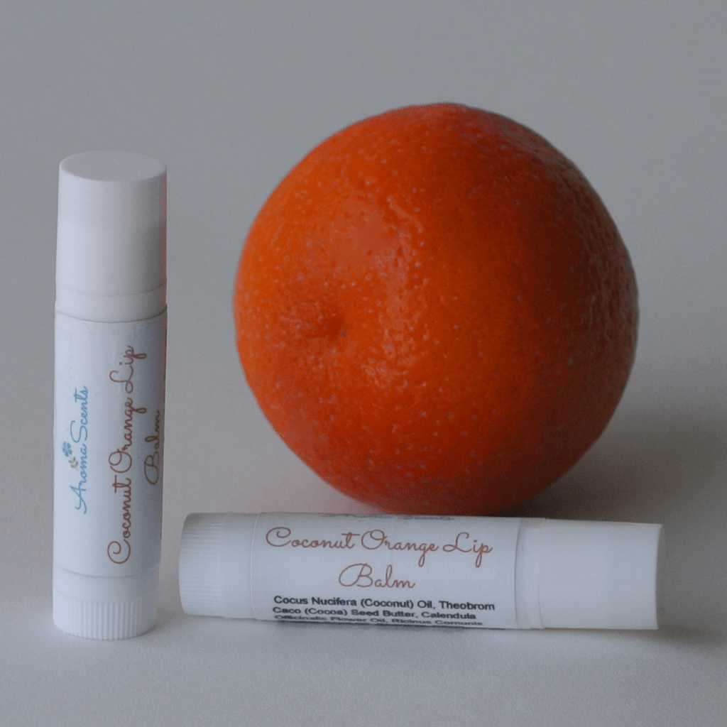 Coconut Orange Lip Balm