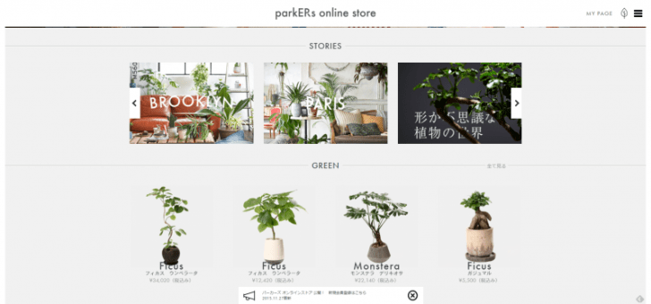parkERs online store