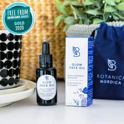Best Face Oil in Free From Skincare Awards 2020 - Glow Face Oil