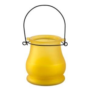 Vela Citronela em vidro colorido – Ref. 2034