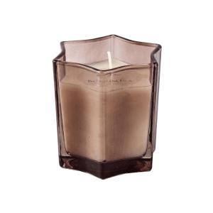 Vela em Vidro Estrela 7,5×7,5cm – Com 3 opções de cores e aromas – Fumê