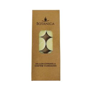 Pct. c/ 10 velas rechaud – Citronela