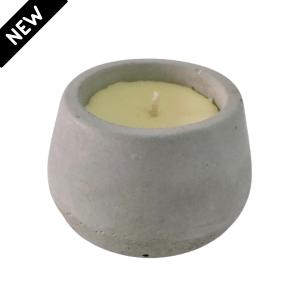 Vela em pote de cimento – Citronela