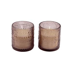 Kit c/2 Velas em Vidro Decorativo – Com 3 opções de cores e aromas