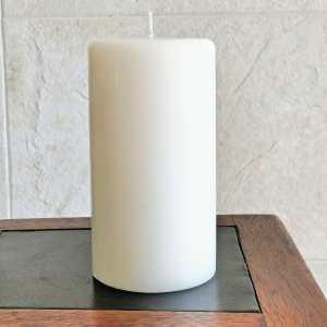 Vela Pilar Grande 10x18cm – Branca