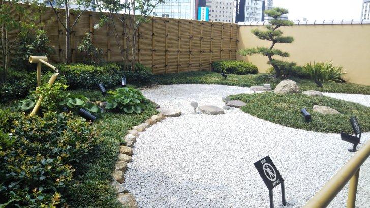 新大阪駅【四季の和庭】