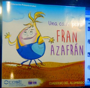 Fran Azafran - a school book about saffron