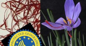 Saffron, Crocus sativus and origin label