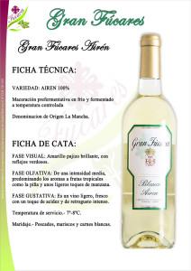 Gran Fucares Airen varietal wine