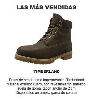 botas de hombre Timberland - senderismo impermeables