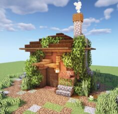 Minecraft houses BOTCRAFT NET