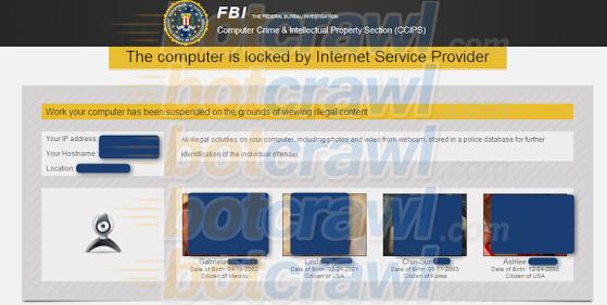 new FBI virus