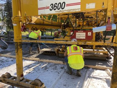BC Bridge Pour 4 scaled - CA112556 - Middle Stella Ireland Rd. Bridge Wearing Surface Replacement