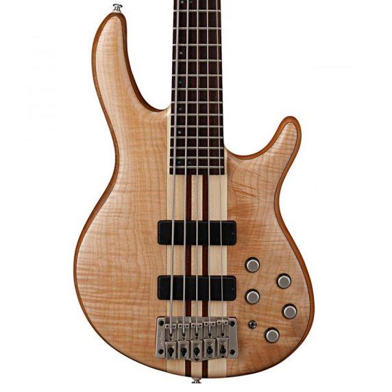 Cort Artisan A5 Plus FMMH Open Pore Natural Bass Guitar body