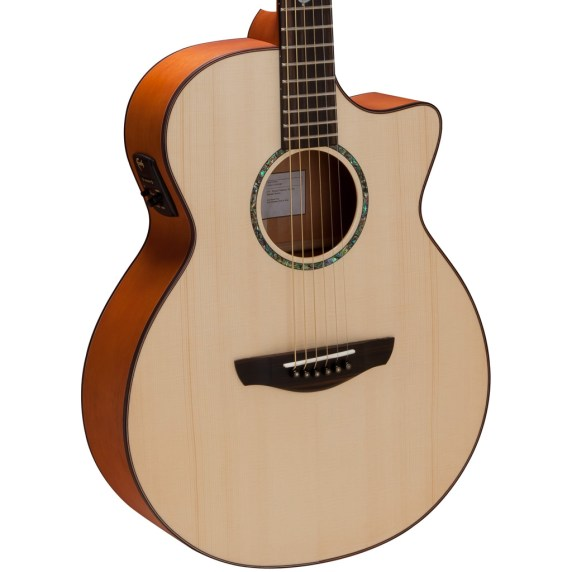 Faith Venus Acoustic Electric Guitar - body