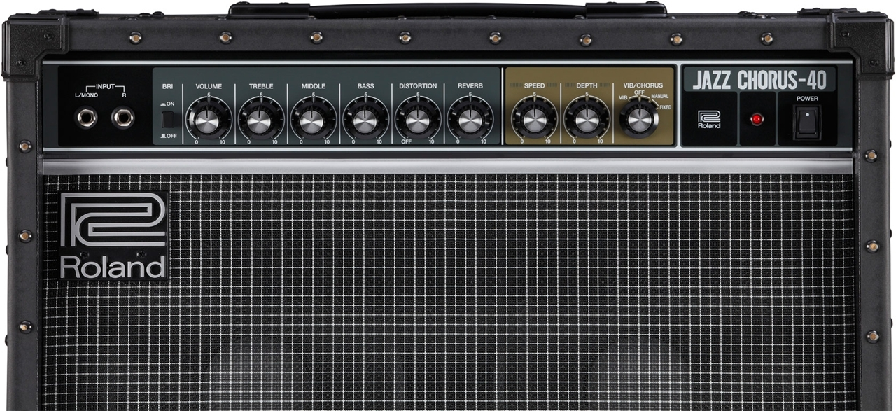 a369b5dc4cf Roland JC-40 JAZZ-CHORUS GUITAR AMPLIFIER