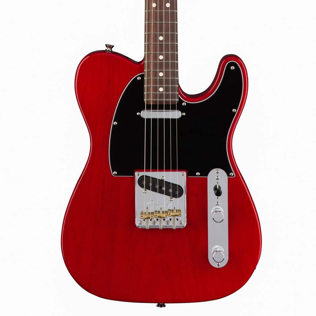 fender american standard telecaster crimson red transparent ash electric guitar paul bothner. Black Bedroom Furniture Sets. Home Design Ideas