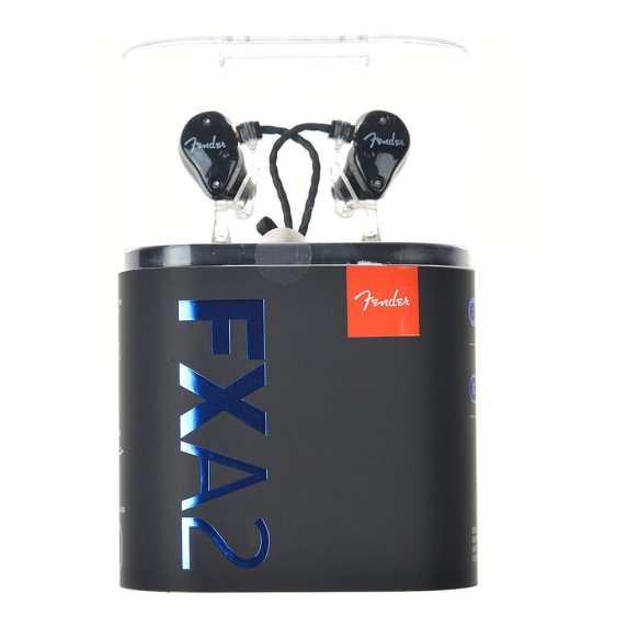 Fender FXA2 PRO IN EAR MONITOR BLACK