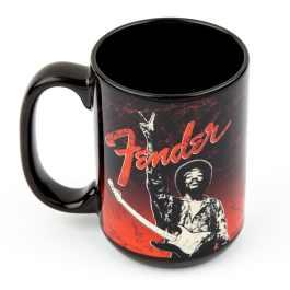 Fender Hendrix Peace Sign Design Coffee Mug