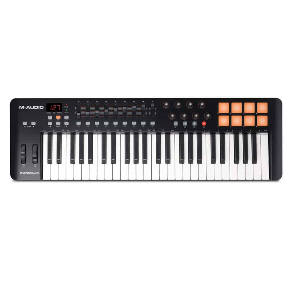 M-Audio OXYGEN 49 MK IV CONTROLLER | Paul Bothner Music | Musical  instrument stores